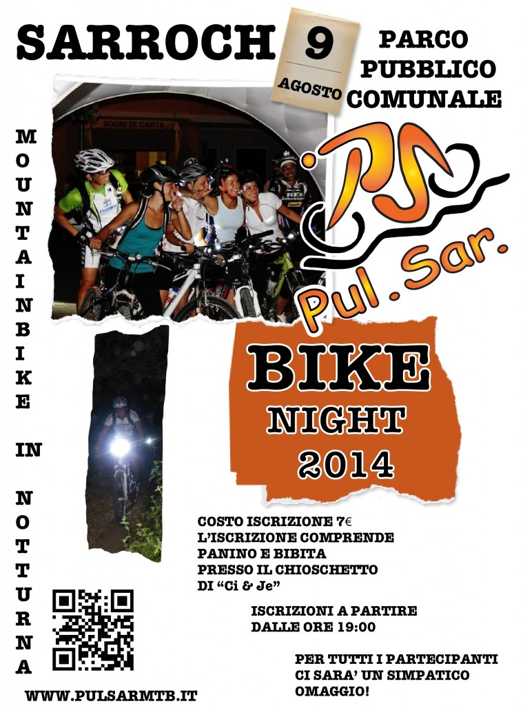 LOCANDINA DEF. BIKE NIGHT 2014